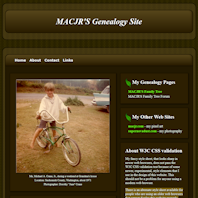 MACJR'S Genealogy Site